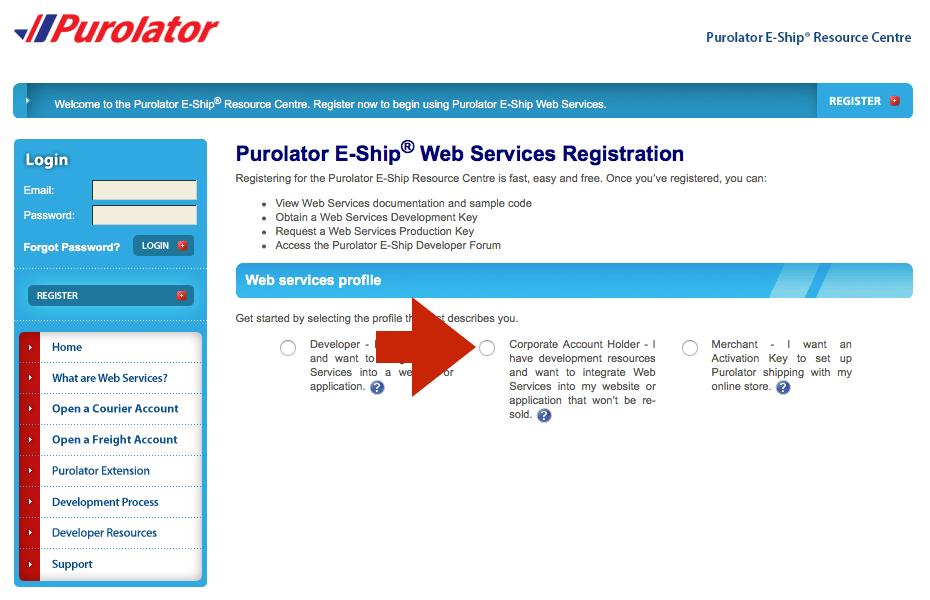 purolator-eship-registration