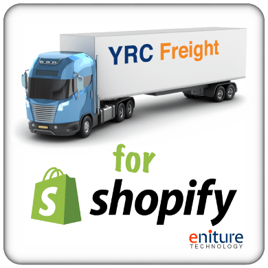 YRC LTL Freight Quotes Shopify App | Eniture Technology