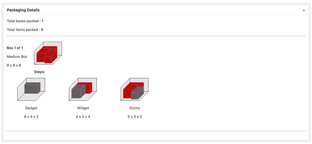 WooCommerce / Standard Box Sizes - Eniture Technology