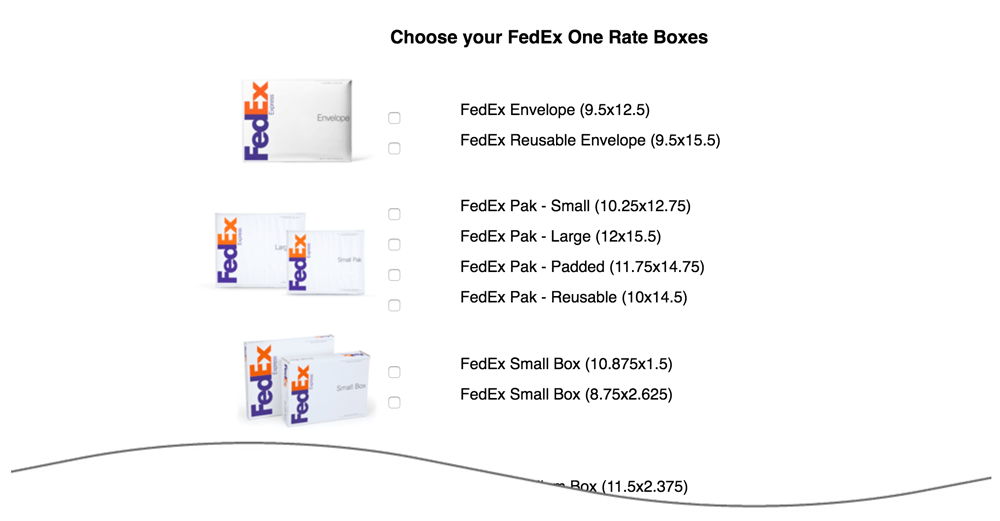 FedEx Small Package Quotes Shopify App | Eniture Technology