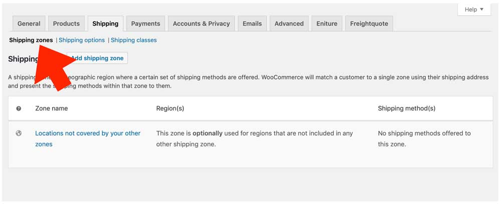 WooCommerce-FreiqhtQuote-Add-Shipping-Zone